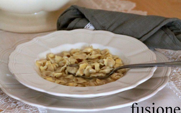 cappelletti in brodo - ricetta reggiana
