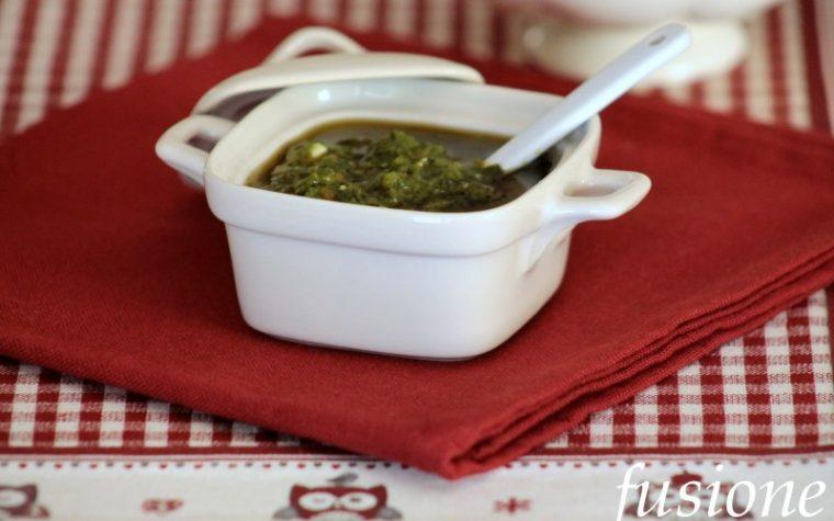 salsa verde della nonna - ricetta emiliana