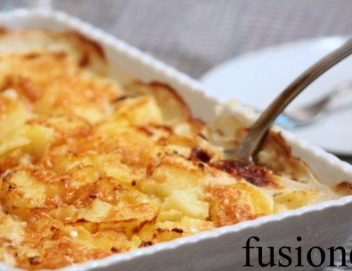 patate lesse gratinate al forno