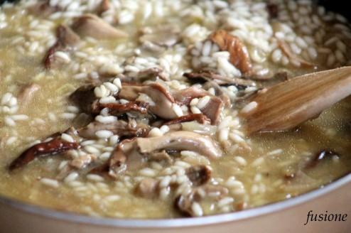 cottura risotto funghi porcini secchi