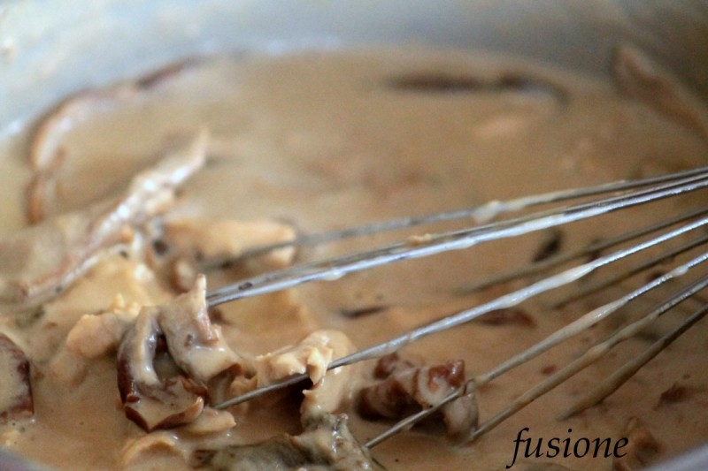 lasagne funghi porcini secchi