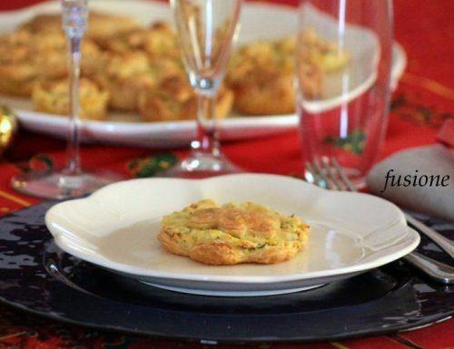 mini quiche patate e formaggio