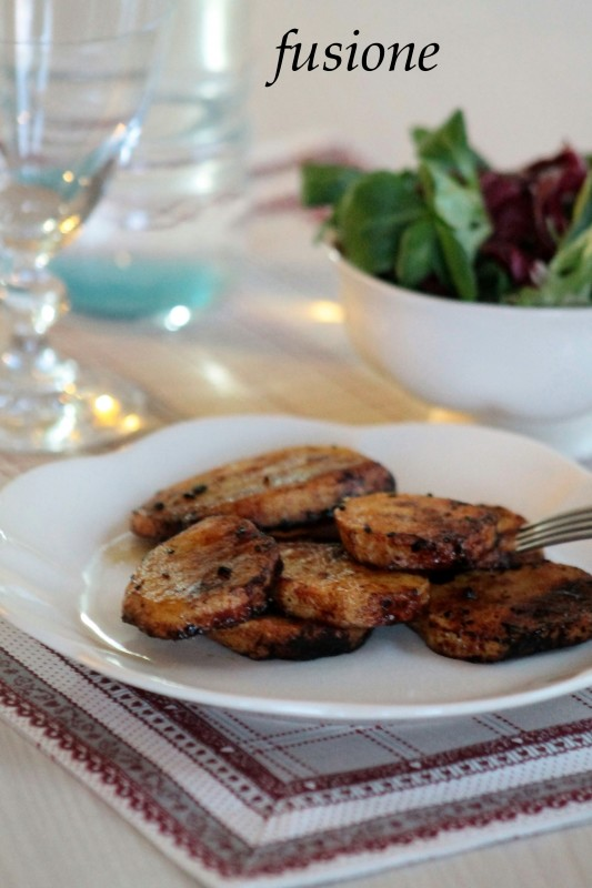patate all'aceto balsamico