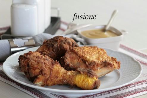 pollo fritto croccante