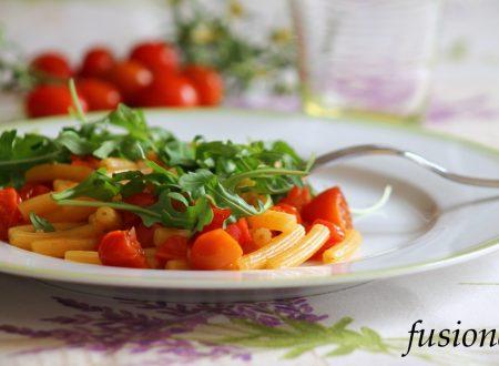 pasta pomodorini e rucola / ricetta facile