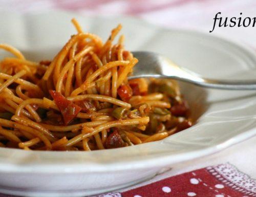 spaghetti saporiti / profumi del mediterraneo