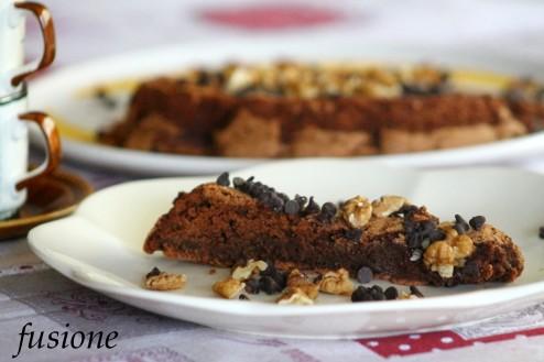 torta al cioccolato e arance