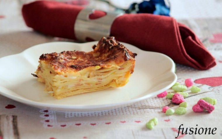lasagne porri e speck - ricetta speciale