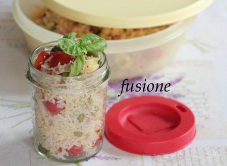 insalata di riso basmati / ricetta veloce
