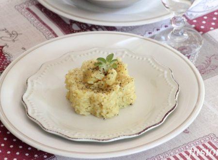 riso con patate ed erbe aromatiche