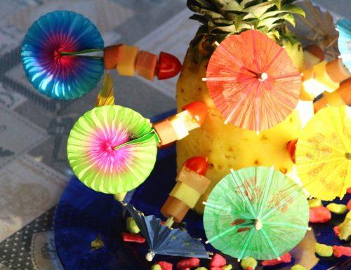 ananas decorata / ricetta sfiziosa