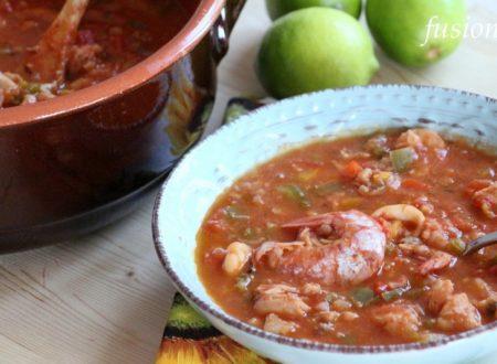 cazuela de mariscos / zuppa di pesce