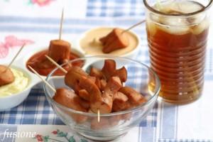 wurstel fritti / ricetta finger food