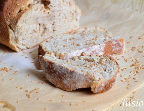 pane integrale al malto