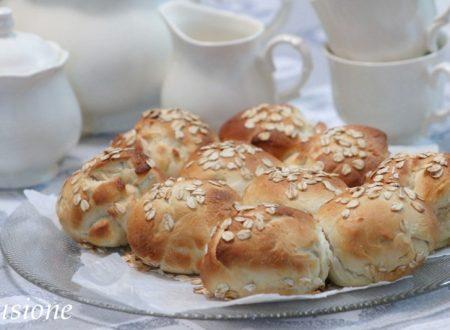 panini al latte con fiocchi di avena