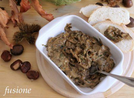 salsa di funghi porcini secchi ai quattro formaggi