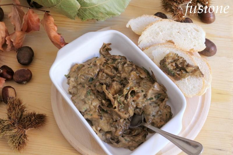 salsa di funghi porcini secchi