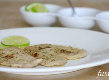 fettine di lonza di maiale al timo – ricetta veloce