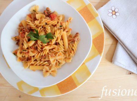 pasta al sugo di salsiccia – ricetta veloce