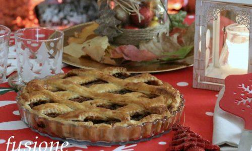 mincemeat tart – ricetta natalizia