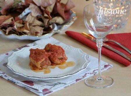 involtini sublimi in umido con polpa di pomodoro