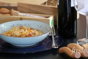 riso con verdure e luganega – ricetta saporita