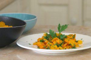 carote vichy allo zenzero