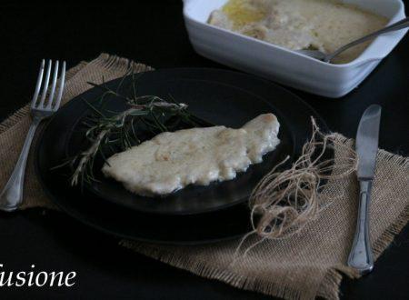 scaloppine di maiale alla panna e limone