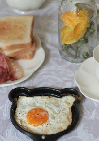 modi di cottura delle uova - uova al tegame