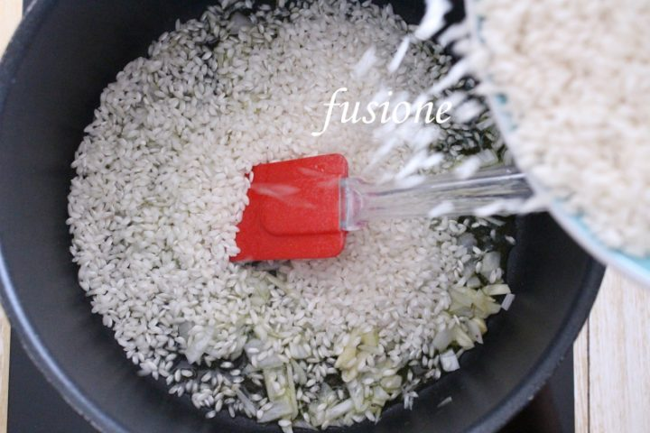 risotto ai peperoni arrostiti