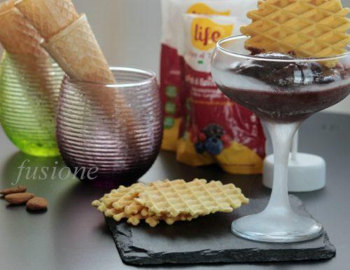 gelato ai frutti di bosco fatto in casa