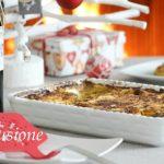 lasagne ai broccoli in salsa morney