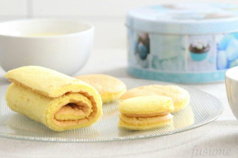 pasta biscotto o pâte biscuit roulé