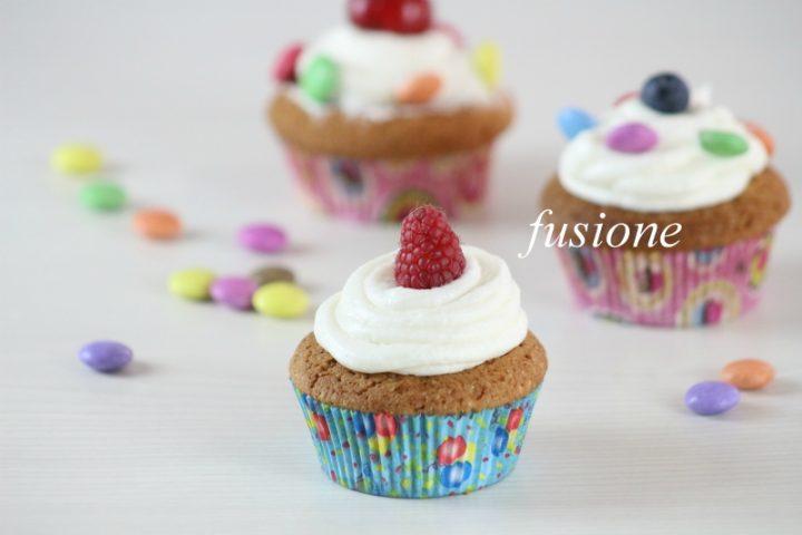 cupcakes alla vaniglia decorati