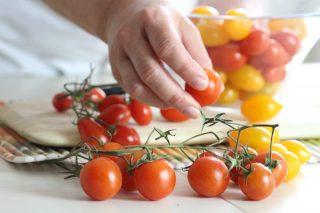 pomodorini ciliegini, gialli e datterini