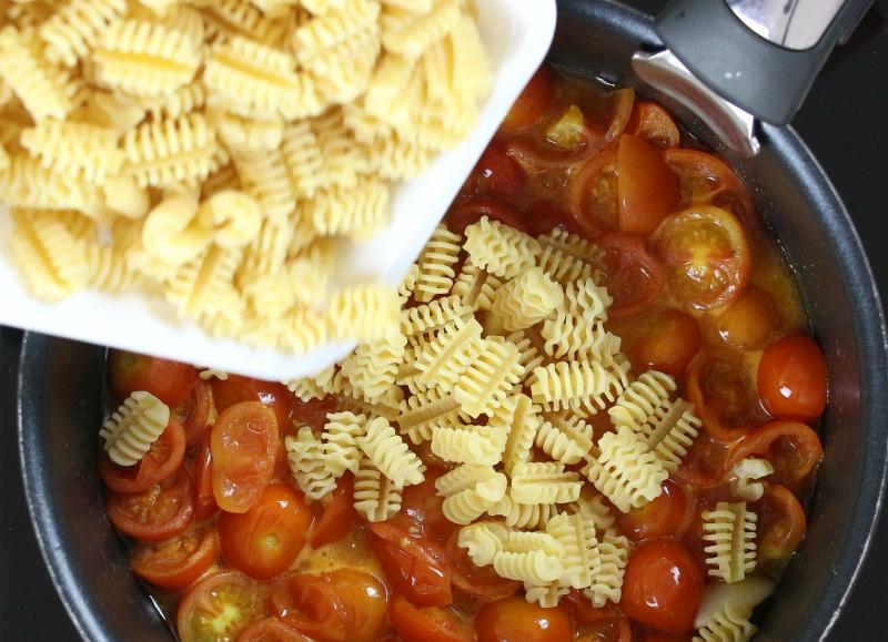 buttare la pasta
