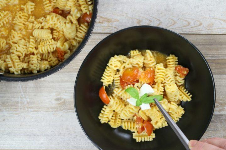 guarnire la pasta risottata