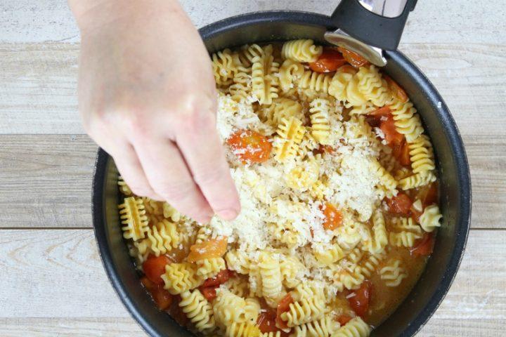 pasta risottata con parmigiano reggiano