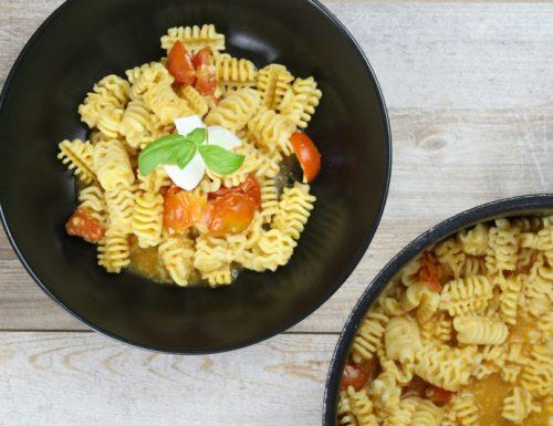 pasta risottata con pomodorini