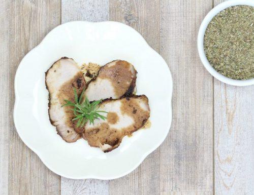 arrosto di maiale alle erbe aromatiche