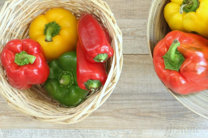 pulire e tagliare i peperoni in modo sicuro, facile e veloce