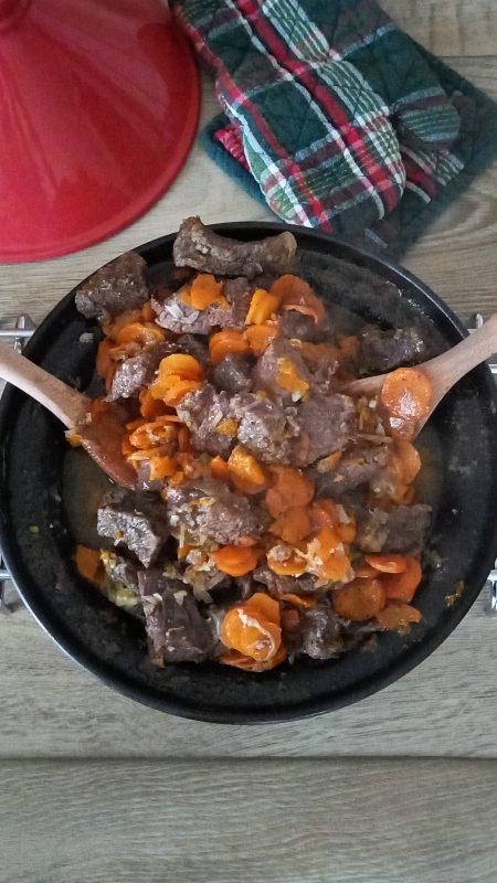 come fare la tajine di manzo con carote