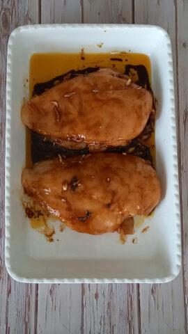 pollo di petto marinato
