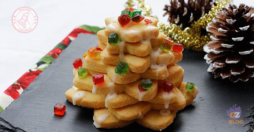 Albero Di Natale Con Biscotti.Albero Di Natale Di Biscotti Ricetta Facile Natale