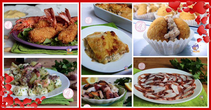 Menu di pesce di san valentino ricette facili e veloci for Pensierini di san valentino