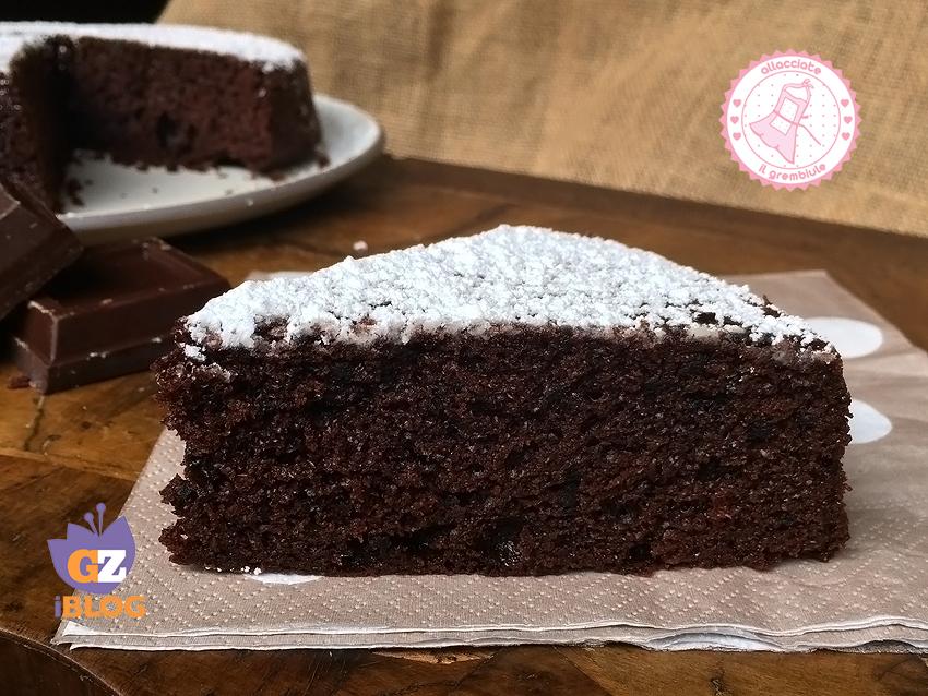 Torta senza ciotola al cioccolato ricetta facile e veloce for Ricette torte facili