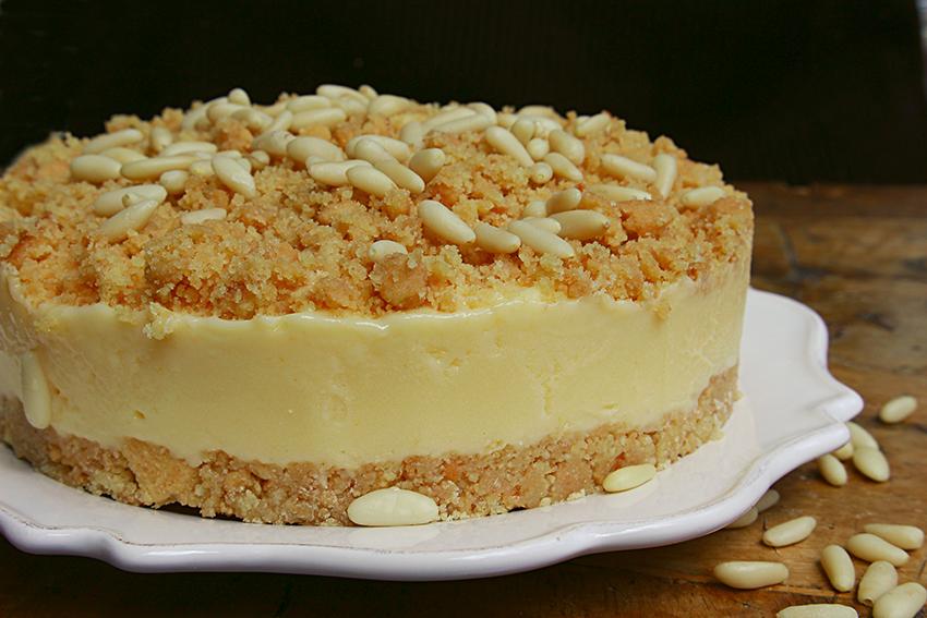 Bien-aimé SBRICIOLATA DELLA NONNA torta fredda estiva AV25