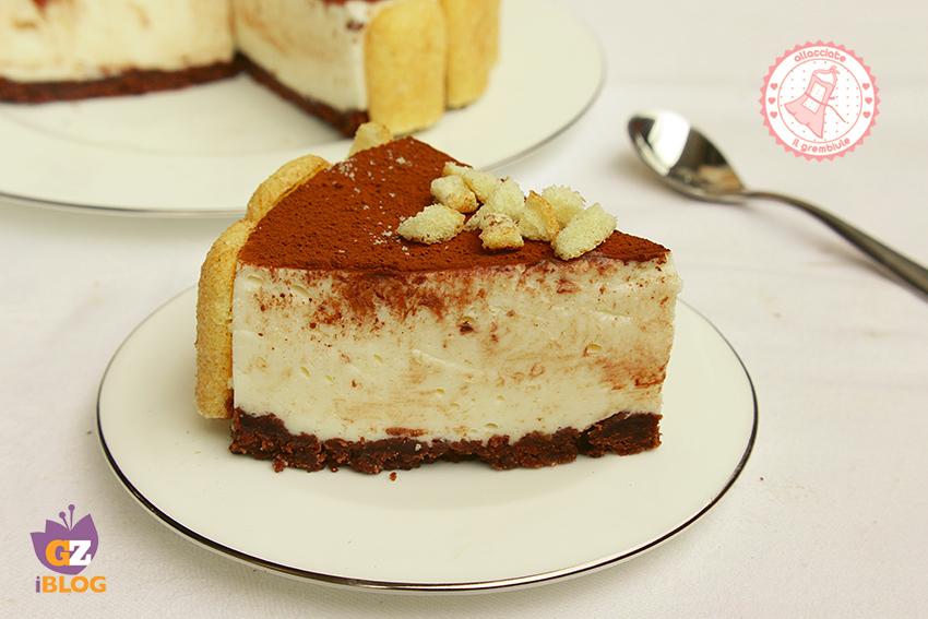 Cheesecake Tiramisu Senza Cottura Ricetta Dolce Estiva
