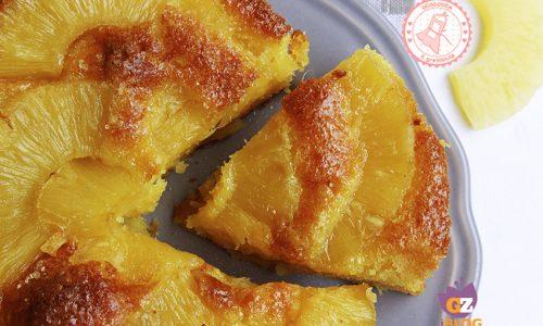 TORTA ANANAS E RICOTTA