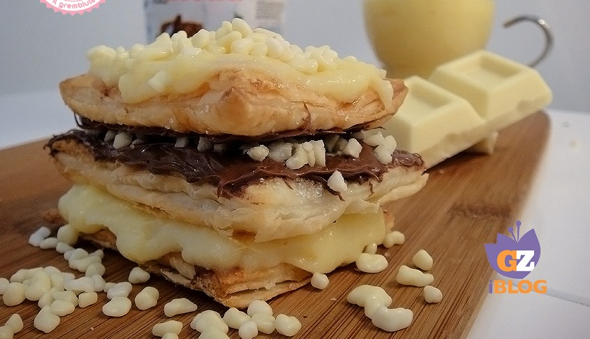 Torta millefoglie nutella chantilly ricetta veloce for Di chi era la casa di vieni da me